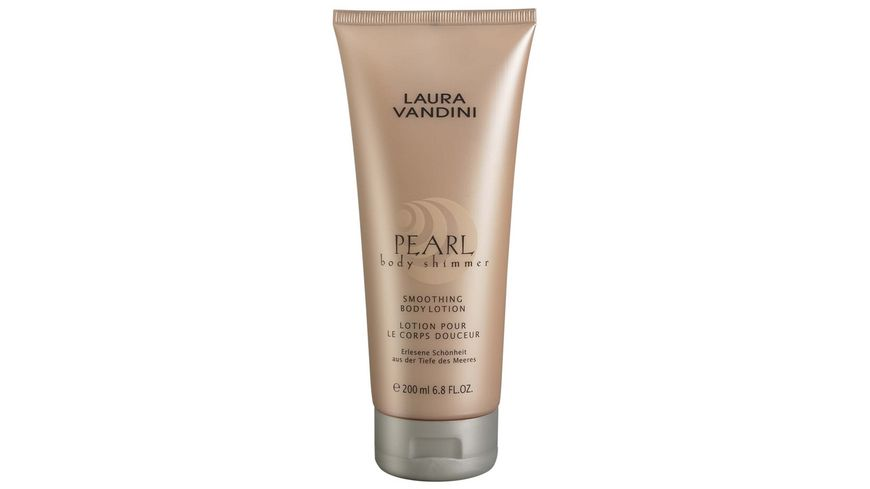 LAURA VANDINI Body Lotion Smoothing PEARL body shimmer