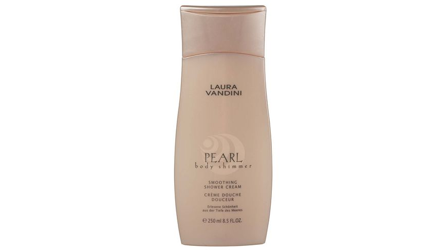 LAURA VANDINI Shower Cream Smoothing PEARL body shimmer