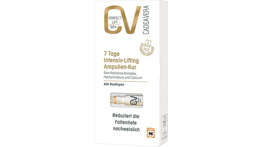CV Perfect Lift Ampullen Kur 7 Tage Intensiv Lifting