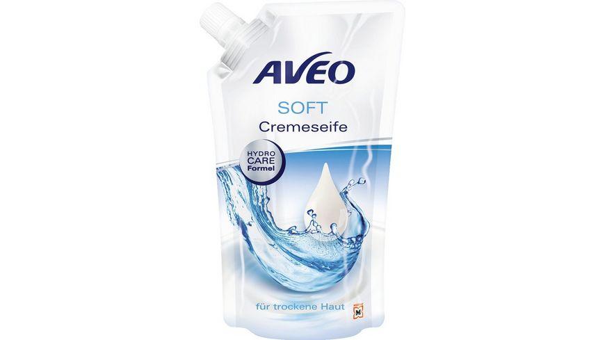 AVEO Cremeseife Soft Nachfuellbeutel