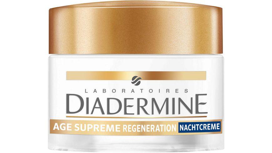 DIADERMINE AGE SUPREME Nachtpflege Regeneration