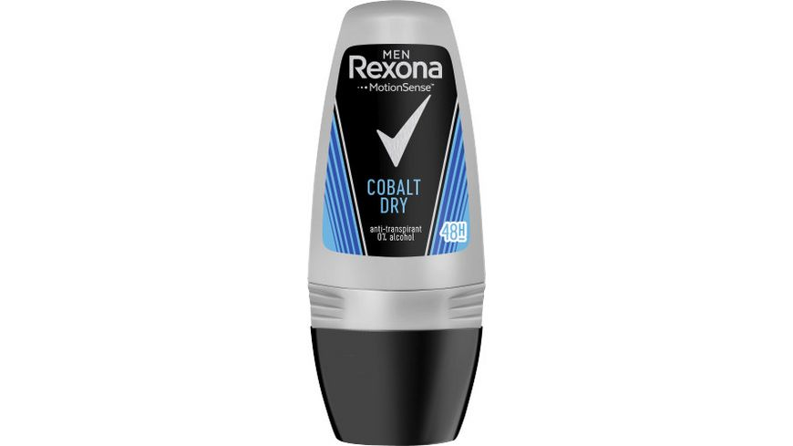 Rexona Men Deo Roll On Cobalt Dry Anti Transpirant
