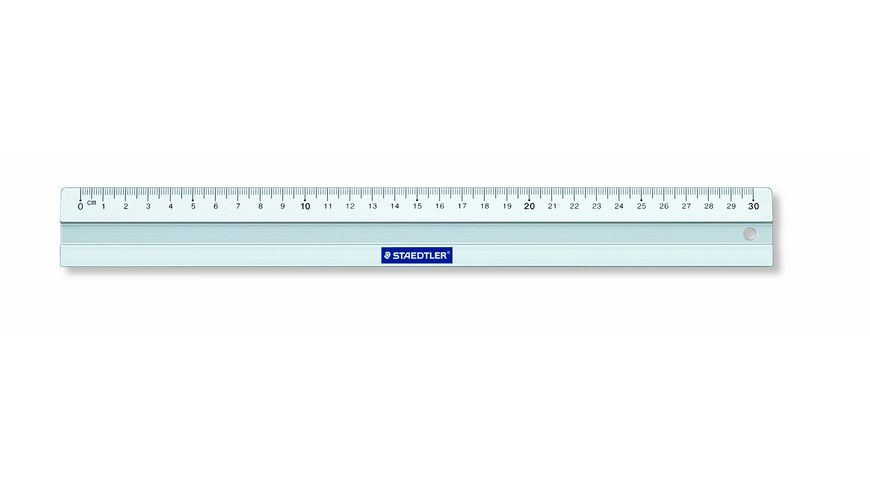 STAEDTLER Aluminiumlineal 30 cm