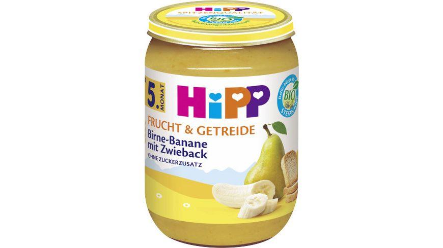 HiPP Frucht Getreide Birne Banane mit Zwieback