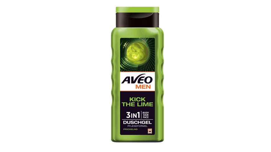 AVEO MEN Duschgel Kick The Lime
