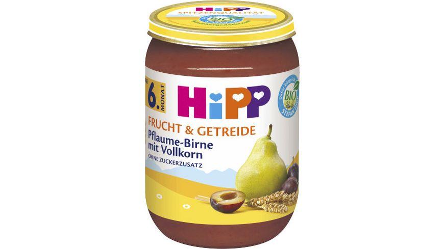HiPP Frucht Getreide Pflaume Birne mit Vollkorn