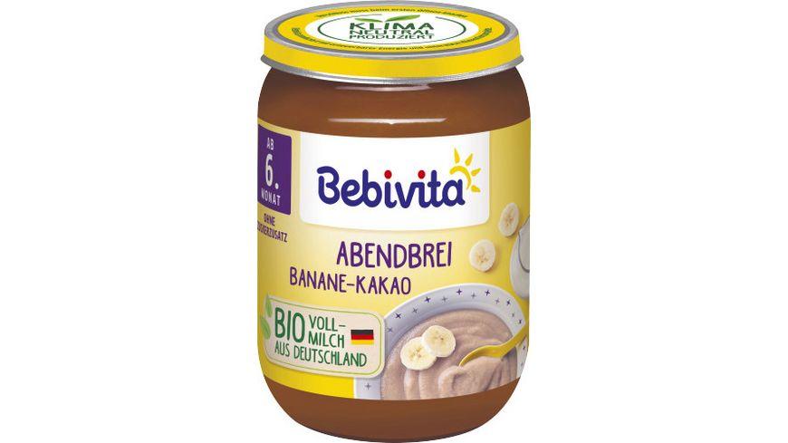 Bebivita Abendbrei Banane Kakao