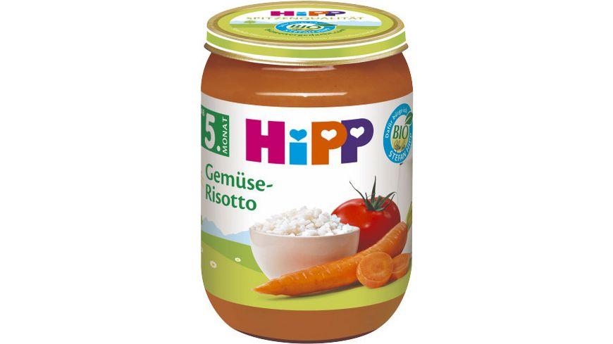 HiPP Gemüse: BIO Gemüse-Risotto, 190g
