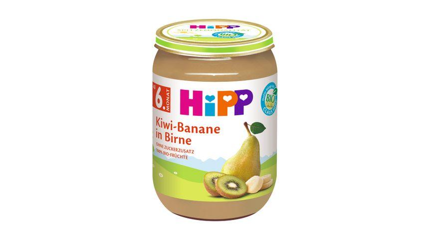 HiPP Fruechte Kiwi Banane in Birne