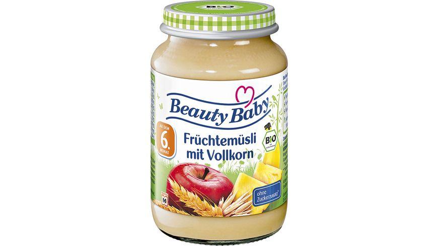 Beauty Baby Bio Fruechtemuesli mit Vollkorn