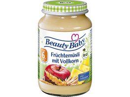 Beauty Baby Babyglaeschen Brei Fruechtemuesli Vollkorn
