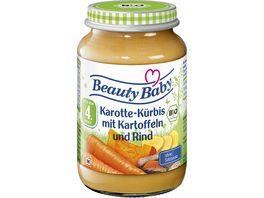 Beauty Baby Bio Karotte Kuerbis mit Kartoffeln und Rind