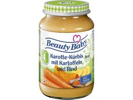 Beauty Baby Karotten Kuerbis Kartoffel Rind