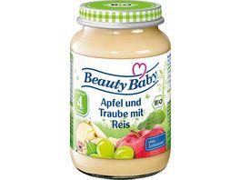 Beauty Baby Bio Apfel und Traube mit Reis