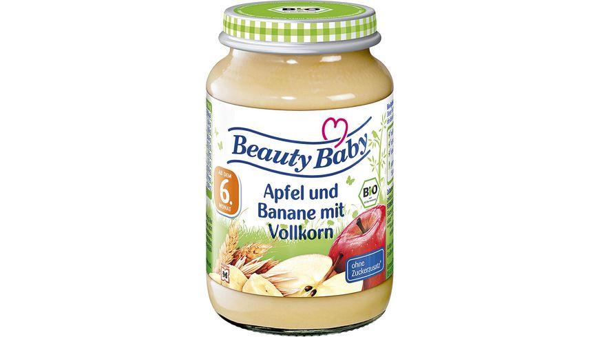 Beauty Baby Bio Apfel und Banane mit Vollkorn