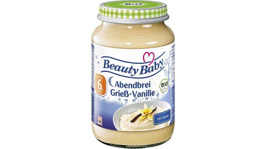 Beauty Baby Bio Abendbrei Griess Vanille