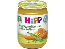 HiPP Babyglaeschen Buttergemuese mit Suesskartoffeln