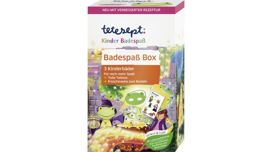 tetesept Kinderbadespass Badespass Box