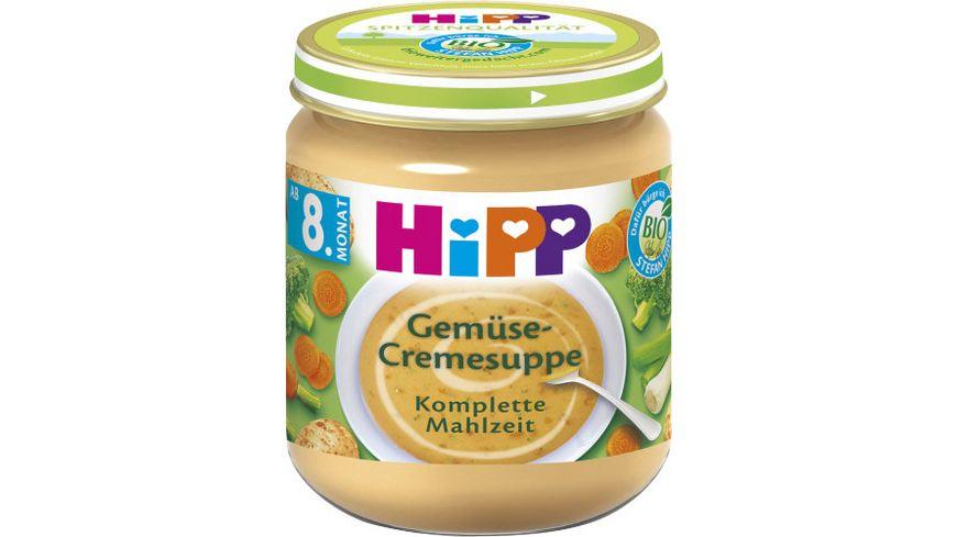 HiPP Cremesuppen 200g: Gemüse-Cremesuppe, ab 8. Monat