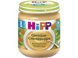 HiPP Babyglaeschen Gemuese Cremesuppe