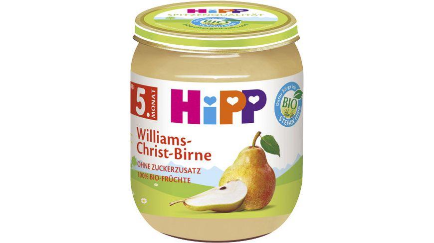 HiPP Fruechte Williams Christ Birne