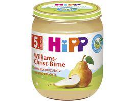 HiPP Fruechte 125g Williams Christ Birne ohne Zuckerzusatz 100 BIO Fruechte ab 5 Monat