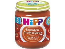 HiPP Babyglaeschen Tomaten Cremesuppe
