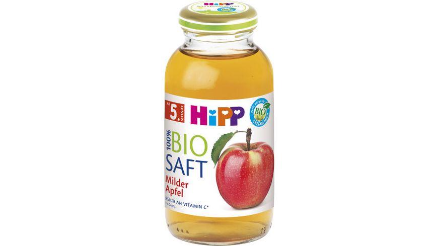 HiPP 100 Bio Saefte Milder Apfel