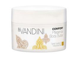 aldo VANDINI COMFORT Bodybutter Pflegend Tahiti Vanilla Macadamia
