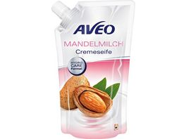 AVEO Cremeseife Mandelmilch Nachfuellbeutel