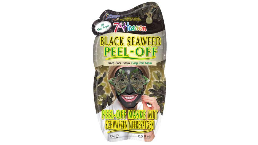 Montagne Jeunesse 7th heaven Maske Black Seaweed Peel Off