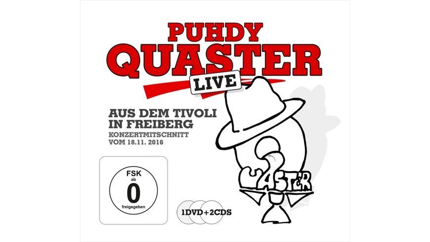 Quaster Live aus dem Tivoli
