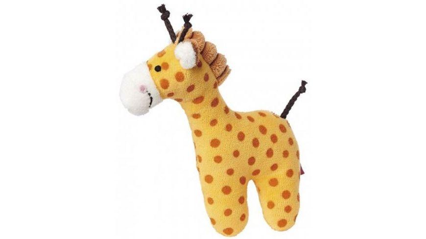sigikid Rassel Giraffe Red Stars Collection