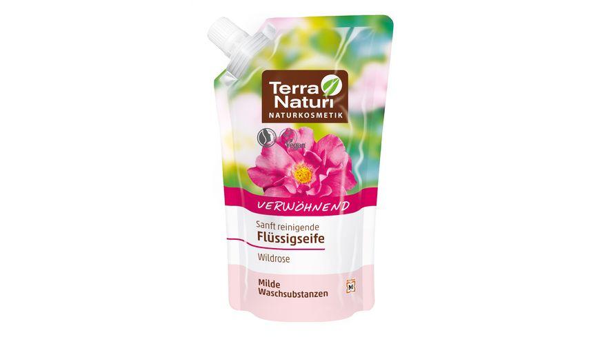 TERRA NATURI Fluessigseife Wildrose im Nachfuellbeutel