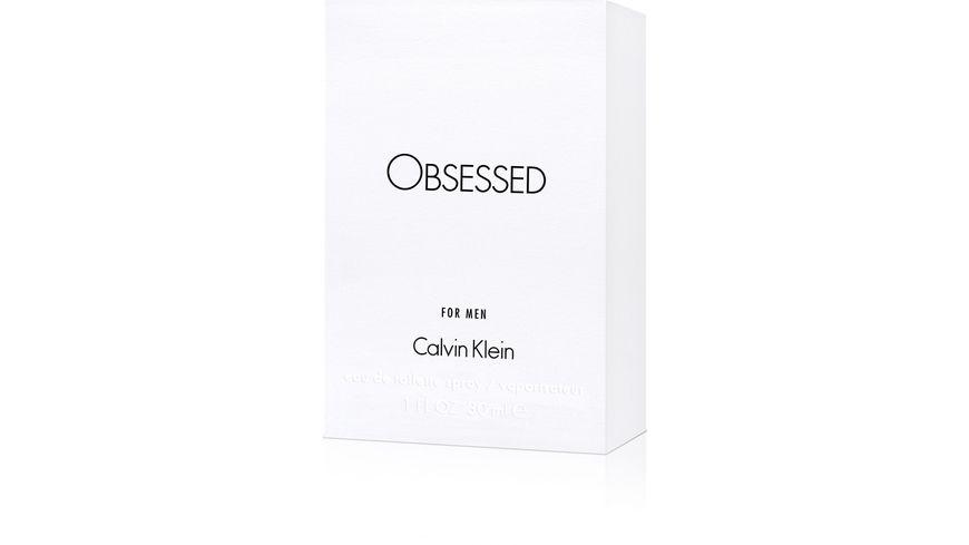 Calvin Klein Obsessed for Men Eau de Toilette Natural Spray