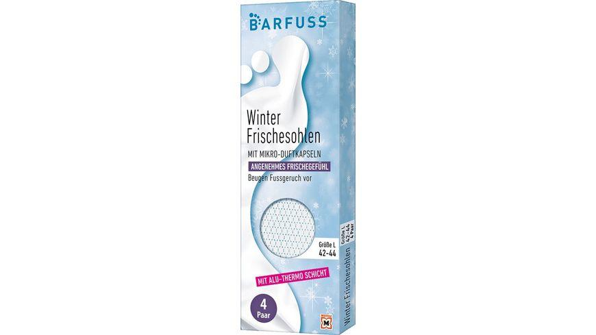 BARFUSS Thermosohlen 42 44 weiss