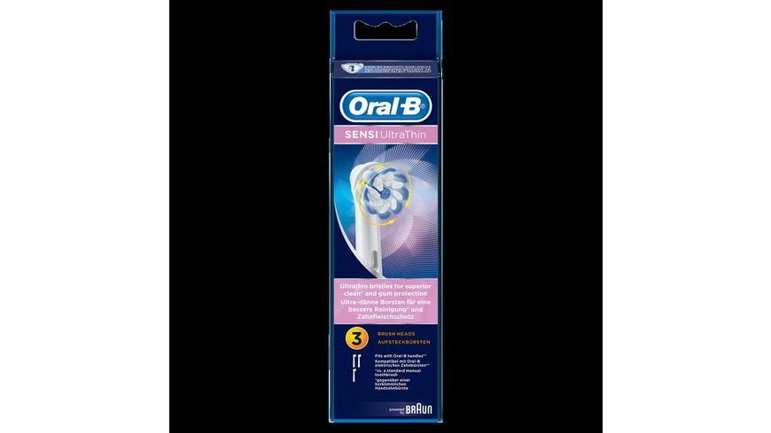 Oral B Aufsteckbuersten SENSI UltraThin 3er