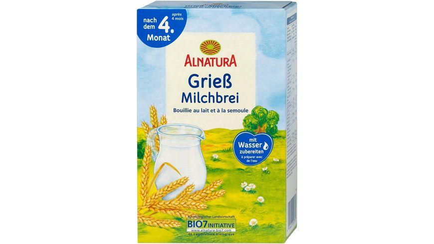 Alnatura Griess Milchbrei