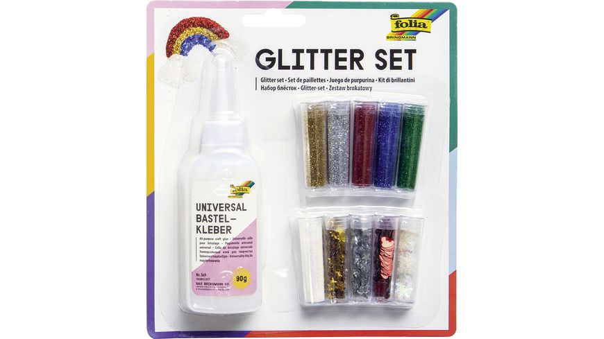 folia Glitter Set 10 Dosen