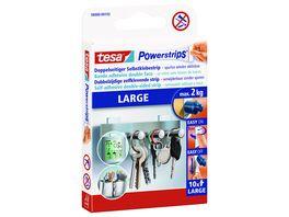 tesa Powerstrips Large