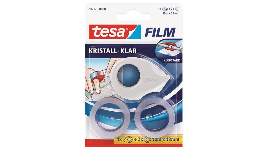 tesafilm Mini Abroller inkl 2x tesafilm kristall klar 10m x 19mm