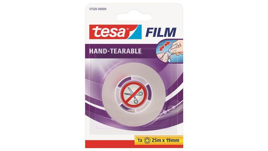 tesafilm von Hand einreissbar 25m 19mm