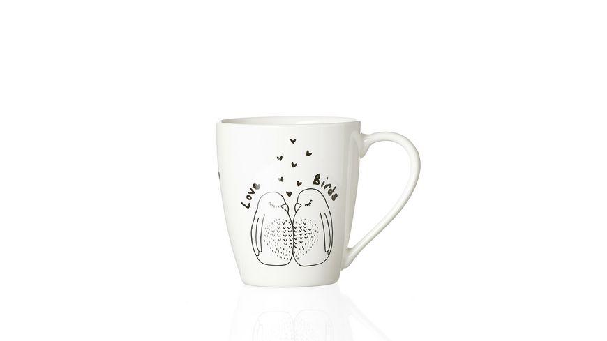 ZAUBERWERK Kaffeebecher Lovebirds 350 ml