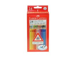 FABER CASTELL Farbstift Grip Colour 24er Etui