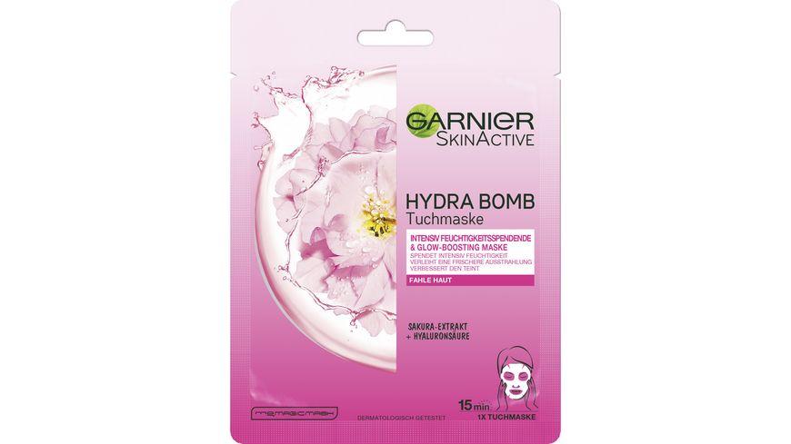 GARNIER SkinActive HYDRA BOMB Tuchmaske Sakura