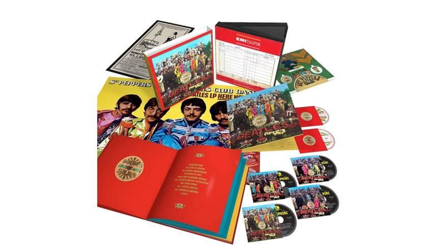 Sgt Pepper s Lonely Hearts Club Band LTD Superdlx