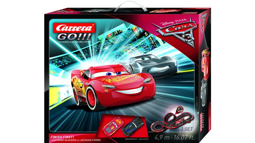 carrera go cars 3 finish first online bestellen. Black Bedroom Furniture Sets. Home Design Ideas