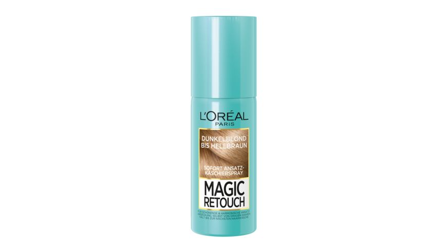 L OREAL PARIS Magic Retouch Ansatzspray Dunkelblond bis Hellbraun