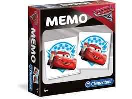 Clementoni Memo Game Cars 3