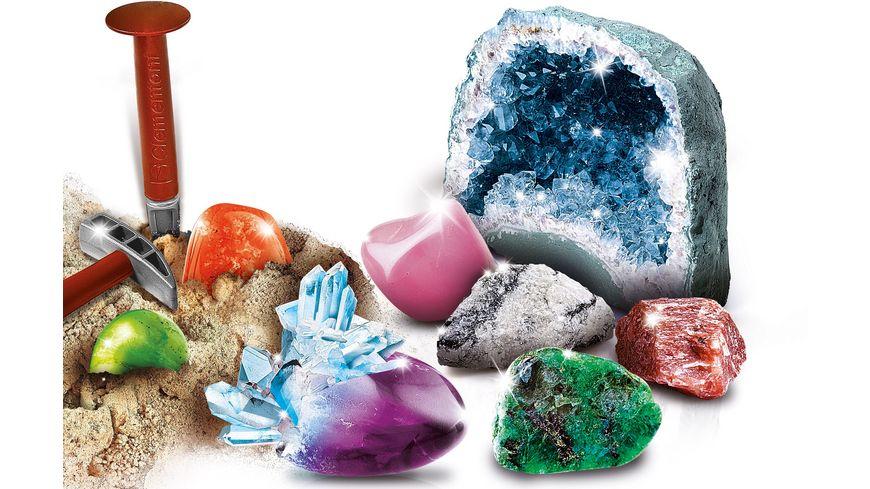 Clementoni Galileo Ausgrabungsset Mineralogie und Kritalle